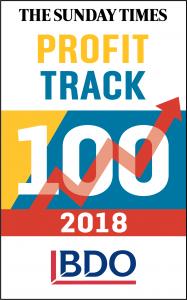 Sunday Times Profit Track 100 2018 Logo