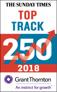 Sunday Times Top Track 250 2018 Logo