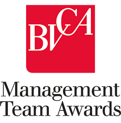 BVCA Management Team Award logo