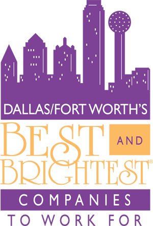 Best and Brightest Companies to Work for in Dallas award logo