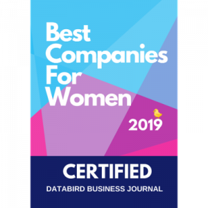 Best companies for women award 2019 logo